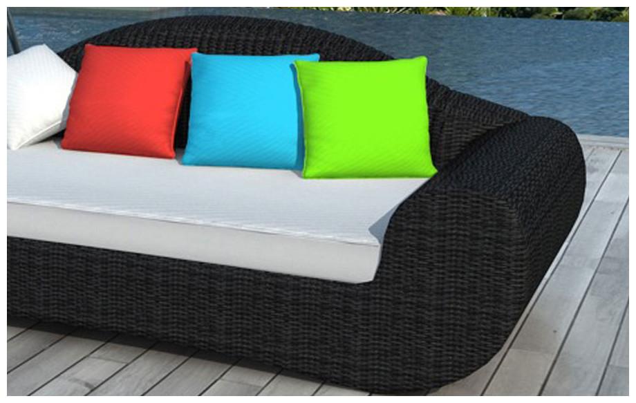 Stunning salon de jardin coussin couleur ideas amazing for Coussin salon jardin resine