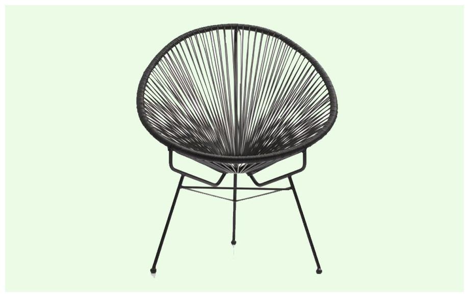 fauteuil d 39 ext rieur vintage en r sine tendue piscine center net. Black Bedroom Furniture Sets. Home Design Ideas