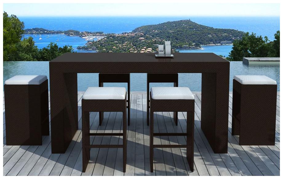 mange debout de jardin en r sine tress e jardin. Black Bedroom Furniture Sets. Home Design Ideas