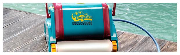 robot piscine dolphin 2001 brosses mousses