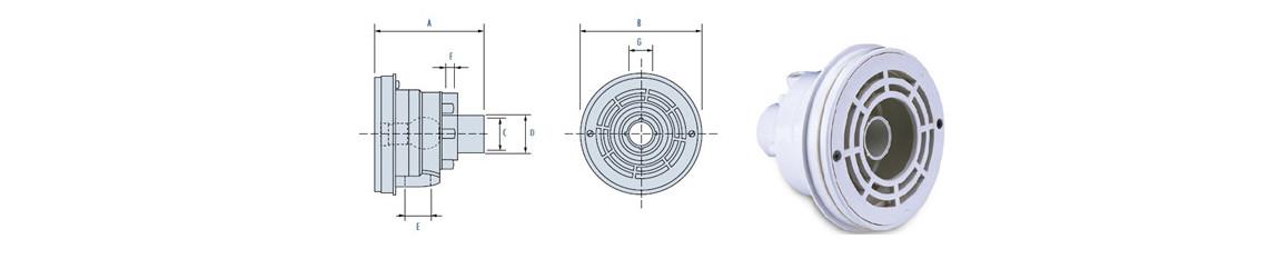 dimensions de la nage à contre courant Lago