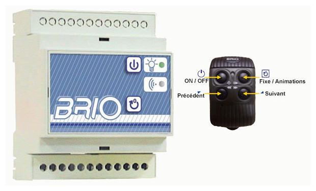 Module de commande pour lampe led Brio
