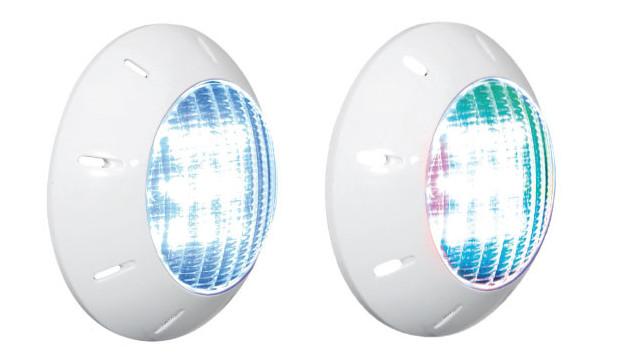 Gaia projecteur piscine LED vue 3/4
