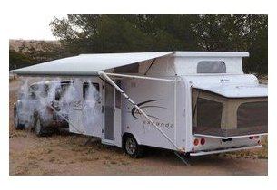 Brumisateur ofresh 6 mètres en camping en situation d'extérieur