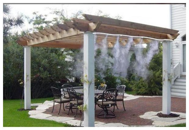 O 39 fresh brumisateur basse pression de terrasse jardin for Brumisateur jardin