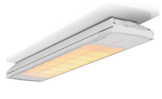 Chauffage extérieur infrarouge Heatscope Spot blanc