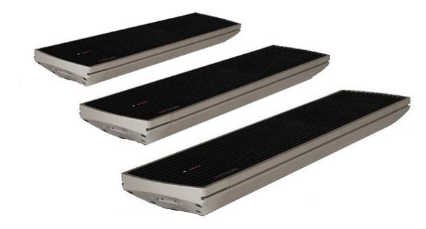 Chauffage Heatscope Spot les trois modèles