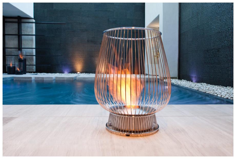 Bulb chemin e l 39 thanol insert de jardin piscine center net - Cheminee ethanol exterieur ...