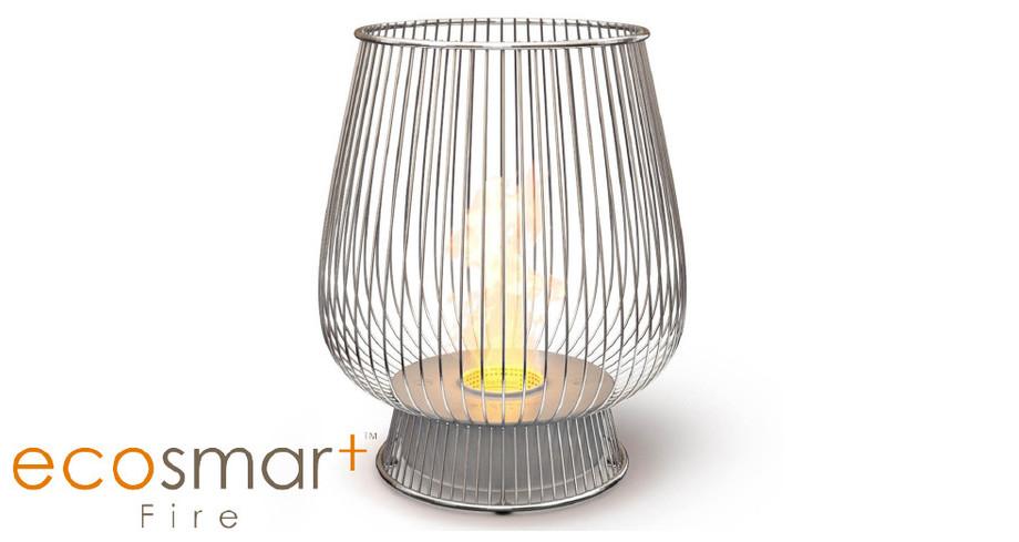 Bulb - cheminée de plein air au bio éthanol - img + logo