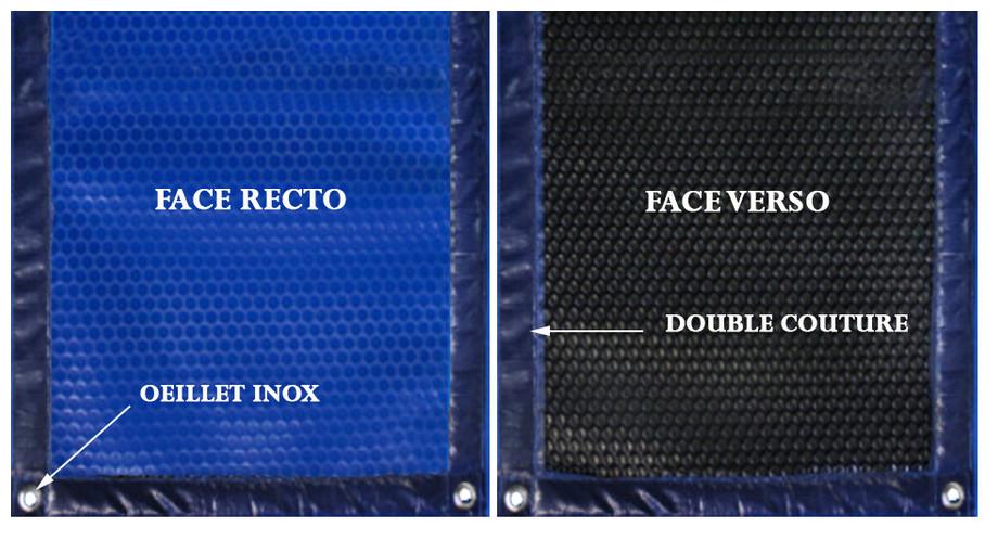 couverture à bulle arlequin 400 quatro le m