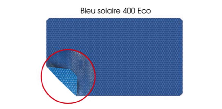 COUVERTURE A BULLES BLEU 400 ECO