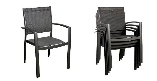Chaise de jardin sans accoudoir for Table et chaise de jardin pas cher