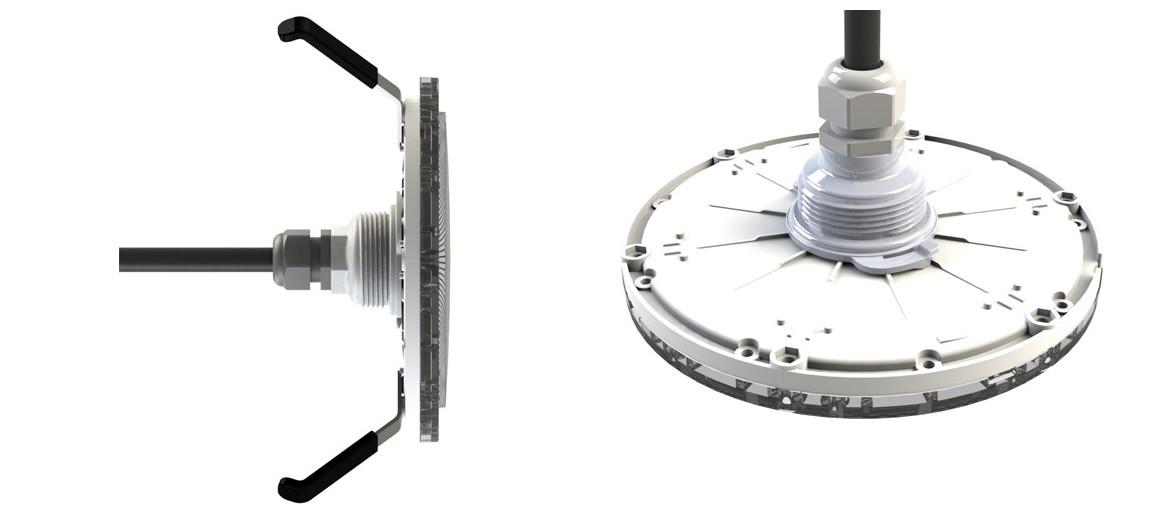 détails du projecteur LED piscine PAR-56 pour niche universelle