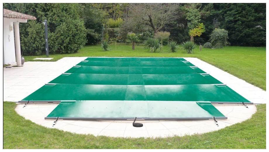 bâche à barres toutes saisons securit pool summum flex