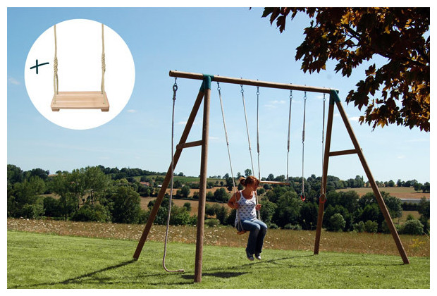 balan oire et agr s pour adolescents partir de 14 ans balan oire corde et trap ze jardin. Black Bedroom Furniture Sets. Home Design Ideas