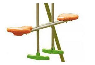agrès via à vis balançoire pour enfant Cayenne en bois