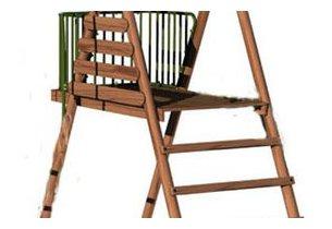Agrès échelle pour enfant Cayenne en bois