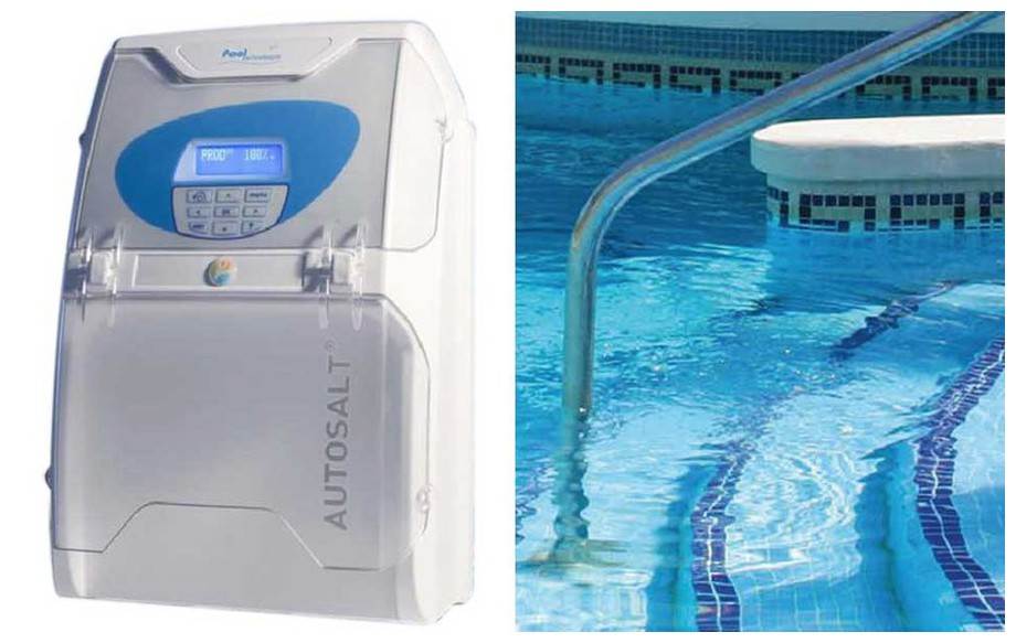 Autosalt electrolyseur piscine pool technologie for Piscine electrolyse