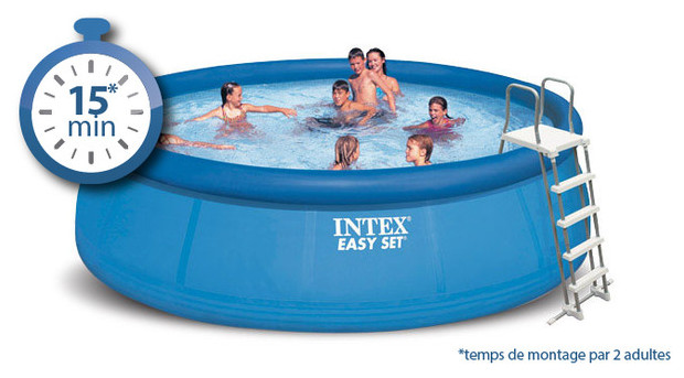 Piscine autoport e easy set par intex au meilleur prix piscine center net - Prix piscine autoportee ...
