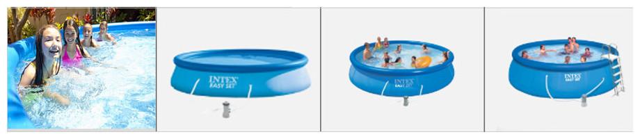 taille des bassins easy set intex