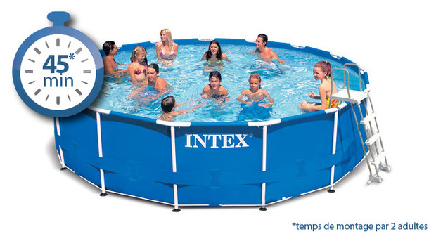 Piscine hors sol 4 57 for Piscine intex 4 57 x 1 22
