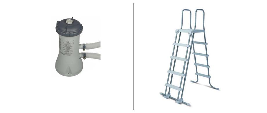 accessoires pour piscines intex metal frame