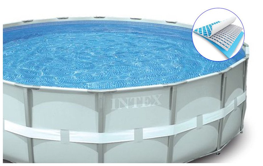 structure de la piscine intex ultra frame