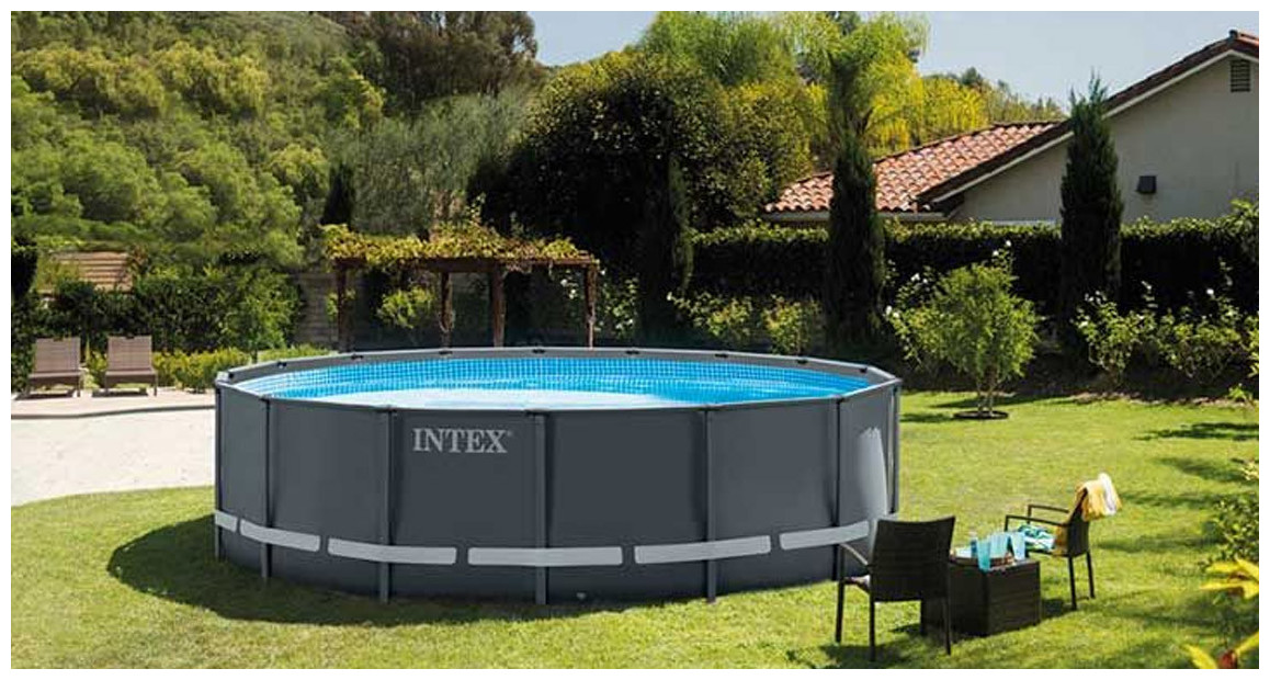 piscine tubulaire intex hors sol ultra frame