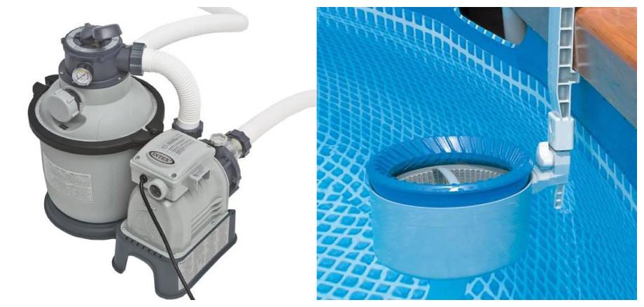 équipement de la piscine intex ultrasilver