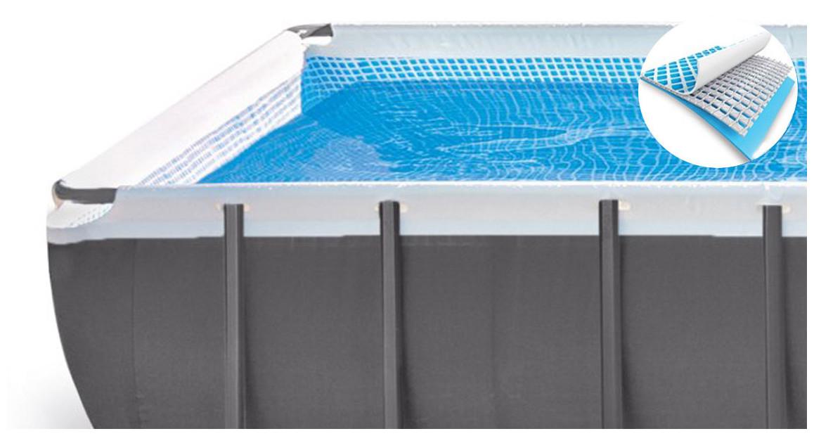 structure de l piscine hors sol intex ultra silver