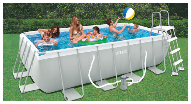 Piscine hors sol tubulaire intex for Prix piscine intex