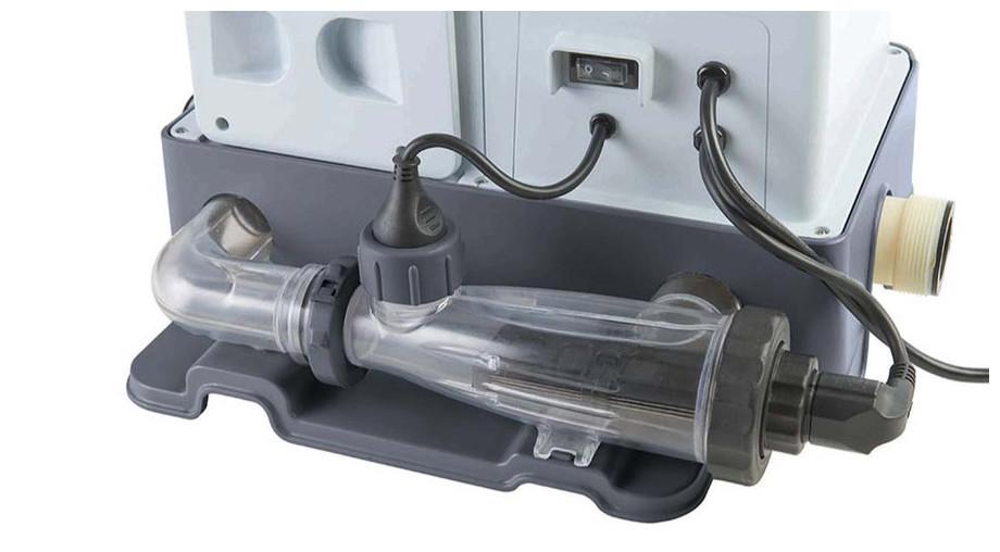 Electrolyseur Intex Krystal Clear Avec Ozonateur - cellule