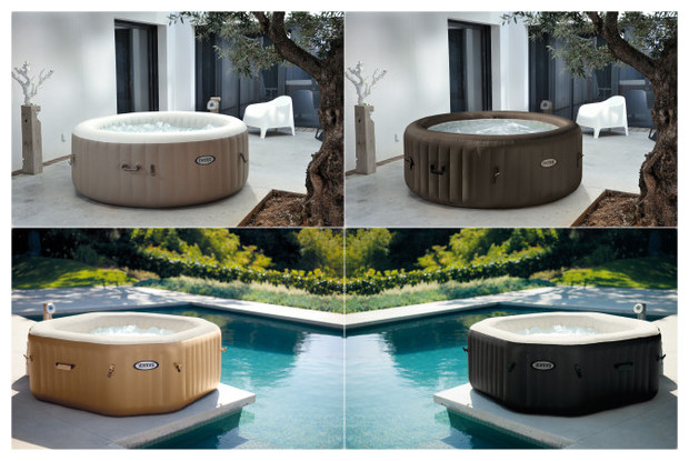 pin portable spas and inflatable hot tubs stour valley on pinterest. Black Bedroom Furniture Sets. Home Design Ideas