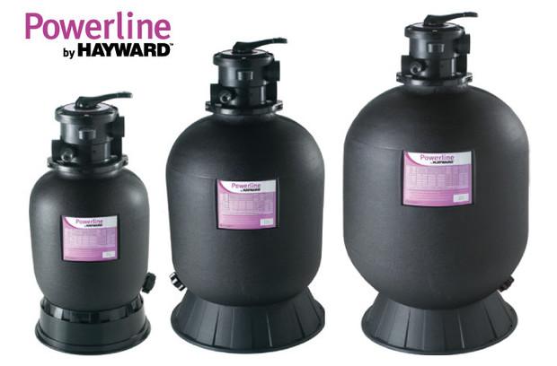 hayward - filtre piscine powerline TOP modèles
