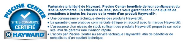 Hayward - charte E-commerce
