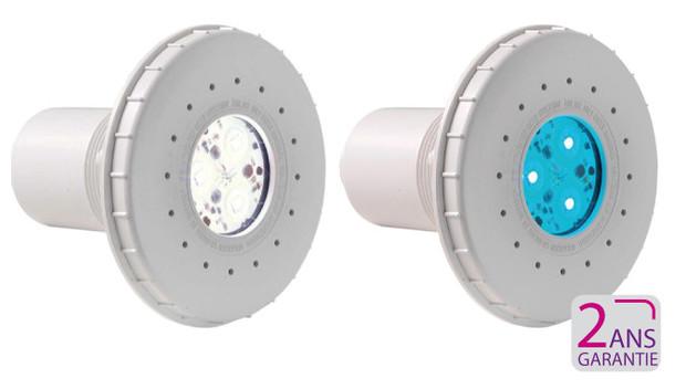 Mini projecteur led hayward pour piscine liner b ton for Eclairage piscine led