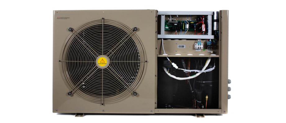 Pompe pacfirst steel wifi chauffage performant conomique piscine center net - Chauffage electrique economique et performant ...