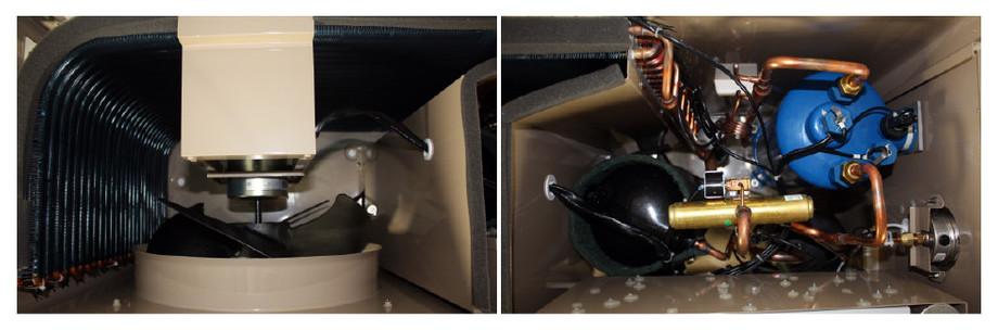 pacfirst steel pompe a chaleur - vue intérieure