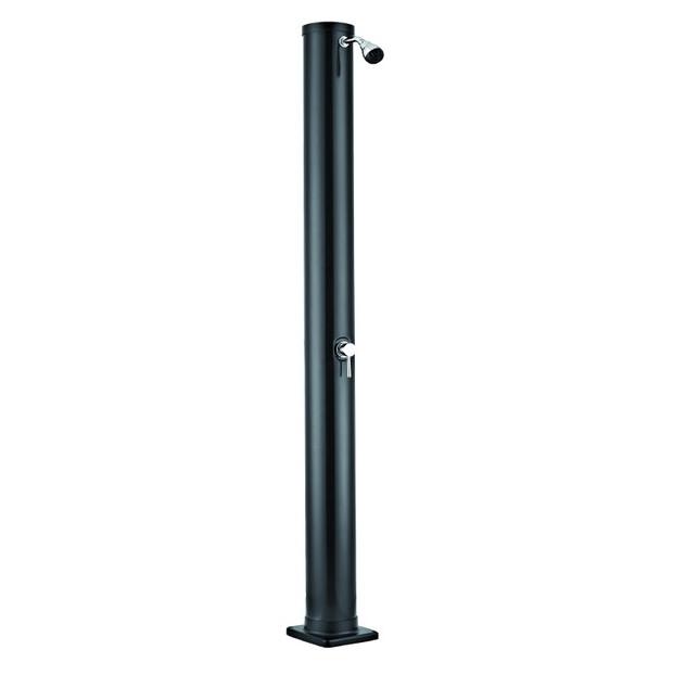 douche solaire - PVC noir, capacité 40 L