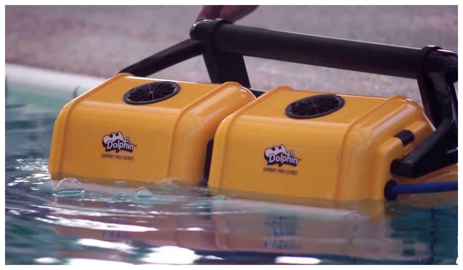 Robot piscine Dolphin Twinning 2 x 2