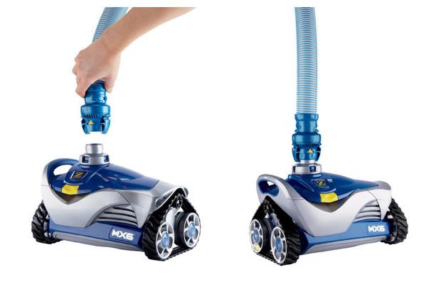 MX6 robot hydraulique - manipulation tuyau
