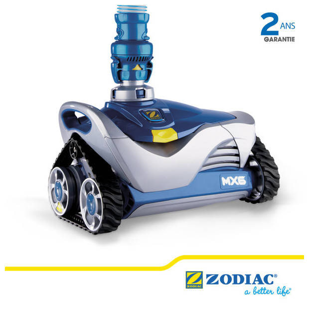 mx6 le robot hydraulique par zodiac piscine center net