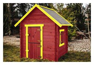 petite maison en bois sophie