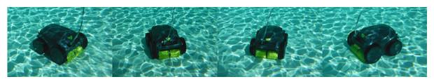 zodiac robot piscine vortex OV3500 - circulation
