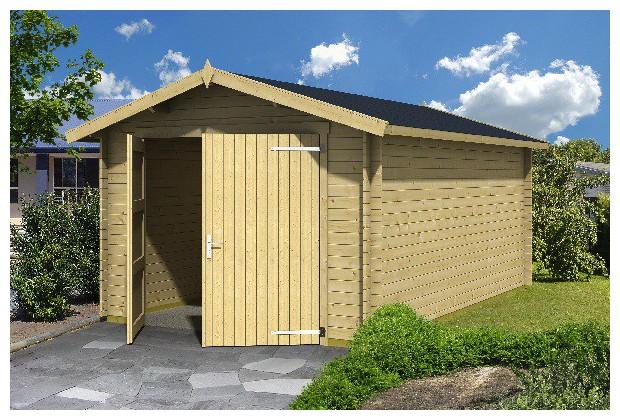 Garage en bois de voiture mauritius 28 jardin for Garage de jardin en bois