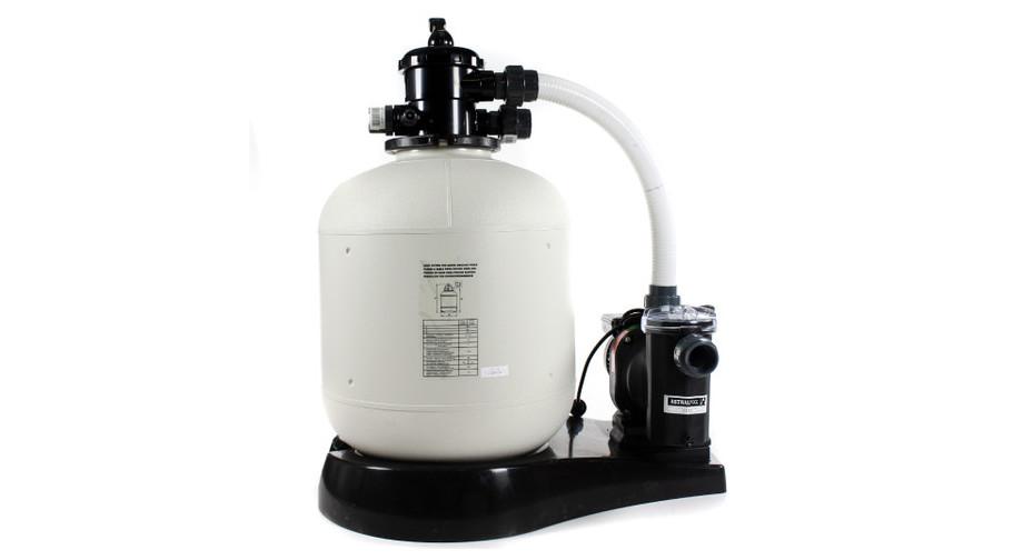 piscine bois 672 x 472 cm - platine de filtration
