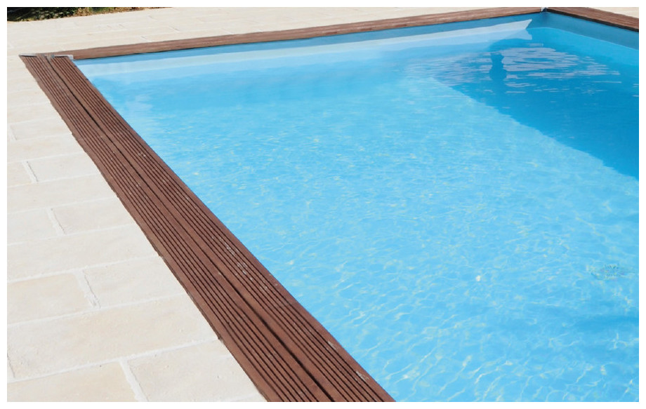 Woodfirst original 800 400 piscine bois construire for Liners piscine enterree rectangulaire