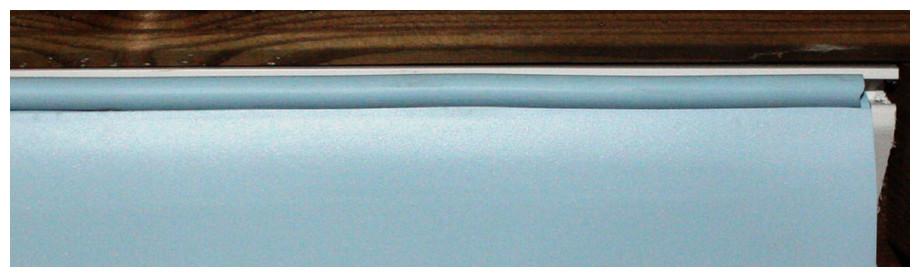 piscine bois en kit woodfirst original  - liner fixation hung et jonc de blocage