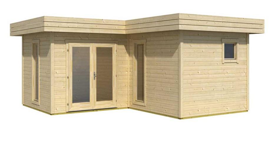 Abri en bois Java - kit à monter | Piscine-Center.Net