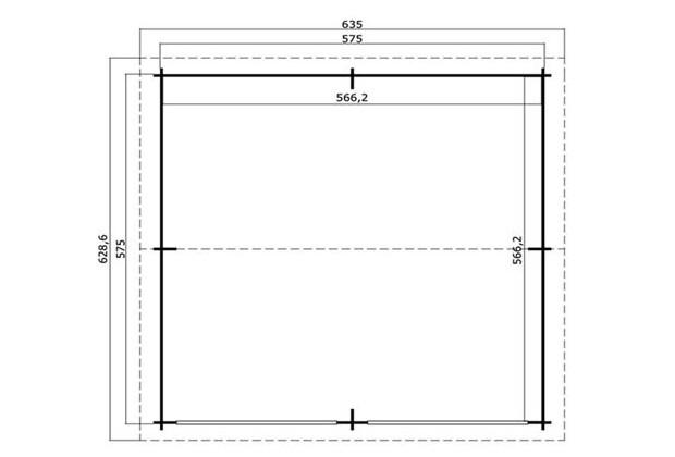 Garage falkland b 2 portes basculantes porte de for Centre de liquidation porte et fenetre